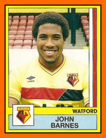 John-BARNES-Panini-Watford-1986-87