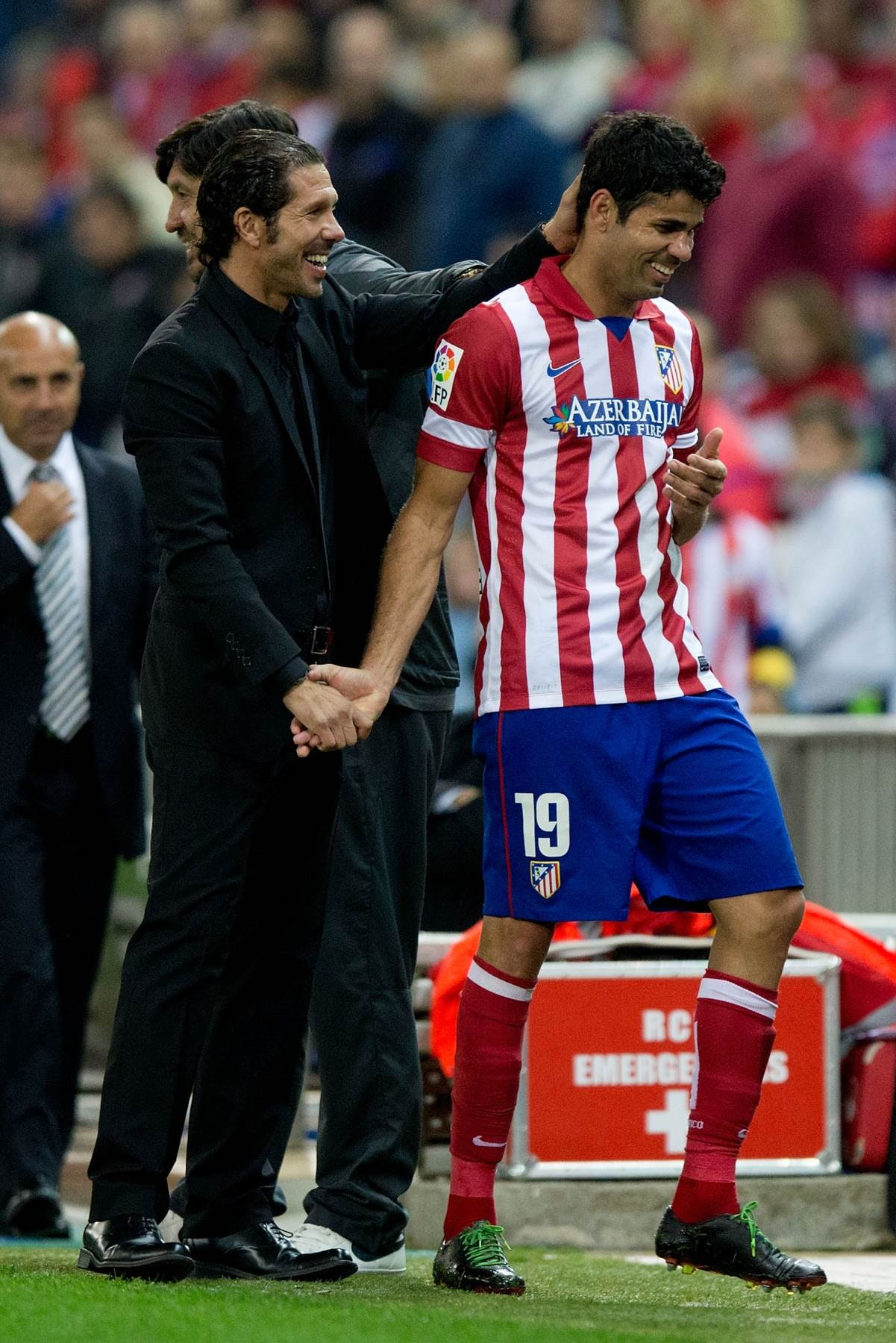 Diego Costa e Simeone