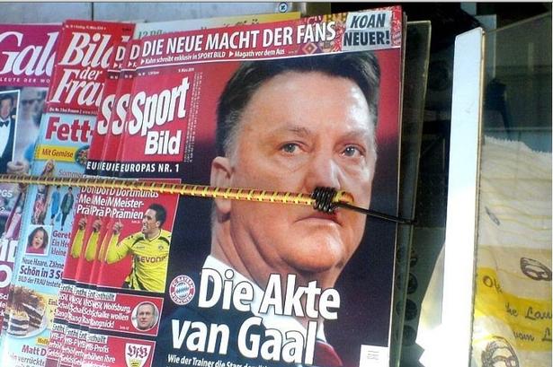 Louis van Gaal Adolf Hitler