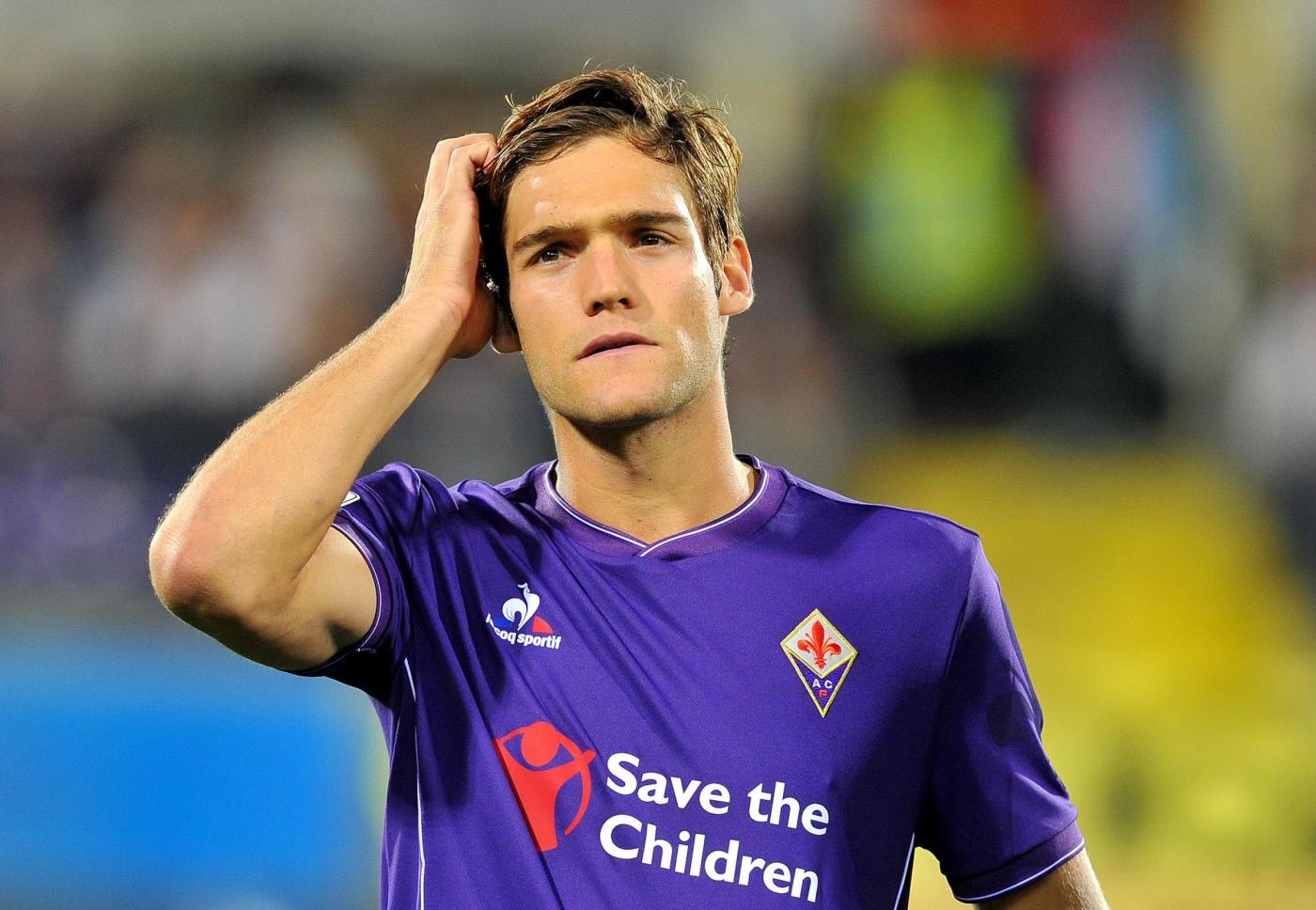 "Foto LaPresse - Jennifer Lorenzini 04/10/2015 Firenze( Italia) Sport Calcio Fiorentina - Atalanta Campionato di Calcio Serie A TIM 2015 2016 - Stadio ""Artemio Franchi"" Nella foto: Marcos Alonso Photo LaPresse - Jennifer Lorenzini 04 October 2015Firenze ( Italy) Sport Soccer Fiorentina - Atalanta Italian Football Championship League A TIM 2015 2016 - ""Artemio Franchi"" Stadium In the pic: Marcos Alonso"