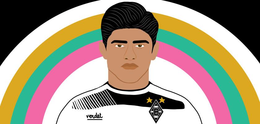 Seconda Maglia Borussia Dortmund Mahmoud Dahoud