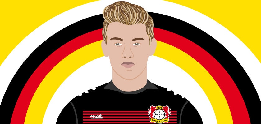 Allenamento calcio Bayer 04 Leverkusen vesti