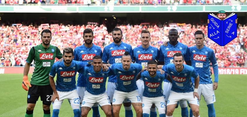 Allenamento Napoli vesti