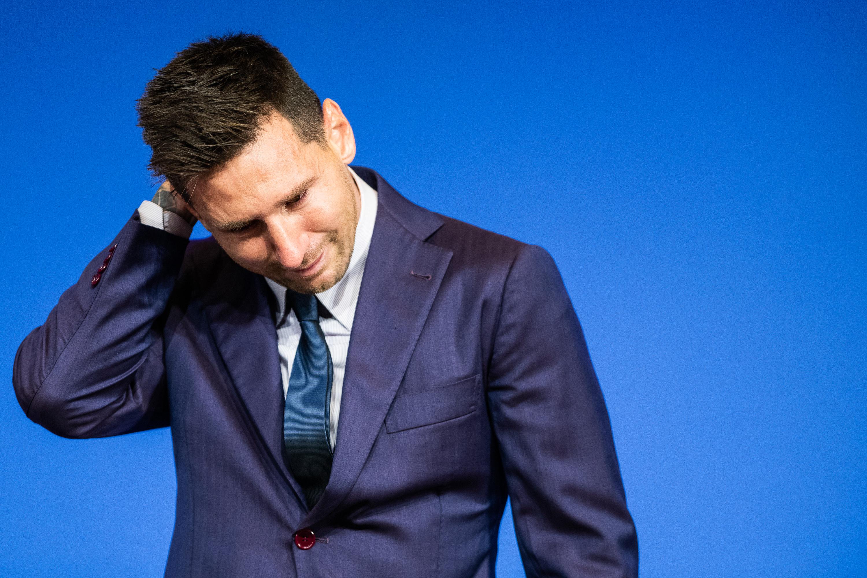 il commosso addio di Lionel Messi al Barcellona